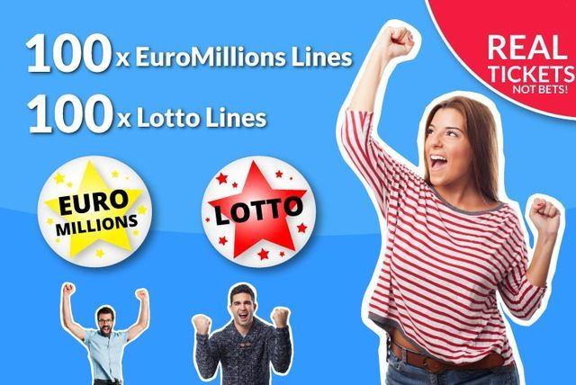 100 EuroMillions & 100 Lotto Syndicate Lines - With Raffle Entries!