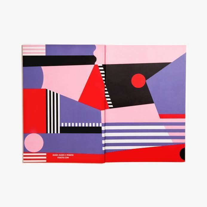 Dusen Dusen x Poketo Colour Field Notebook