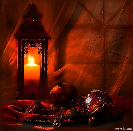 شموع فى صور متحركه رائعه animated candles