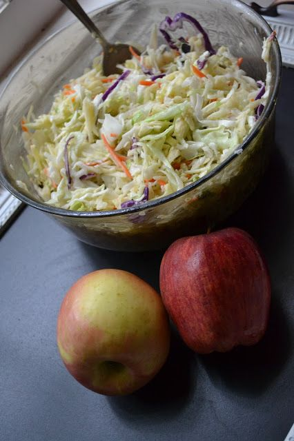 Making Miracles: Apple Coleslaw