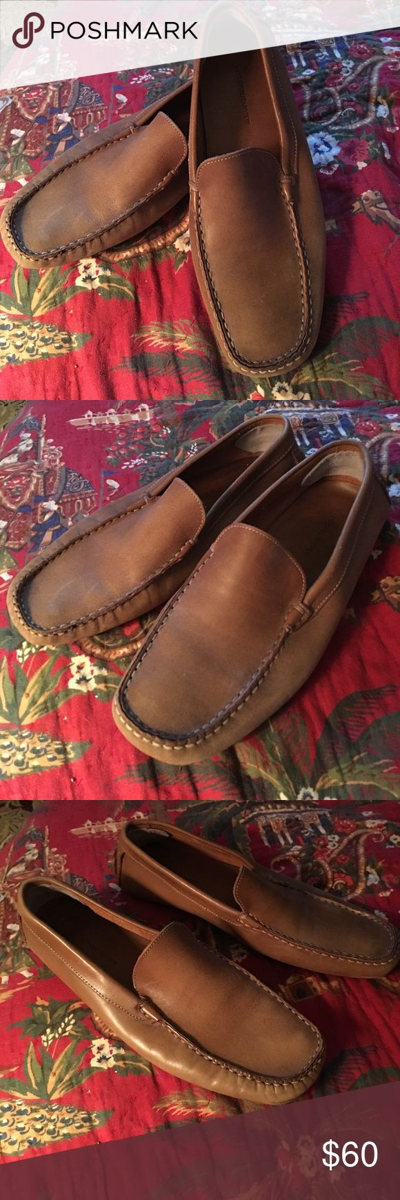 Metropolitanview Italian leather car driver loafer These used and broken in. Lots of life left and super soft. Made in Italy so the quality is amazing. Padded leather sole and bottom has rubber pads. Metropolitanview Shoes Loafers & Slip-Ons