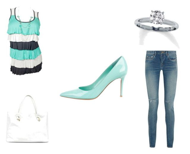 """""""Everyday[13]"""" by agentpalmer on Polyvore featuring Yves Saint Laurent, Gianvito Rossi and Sole Society"""