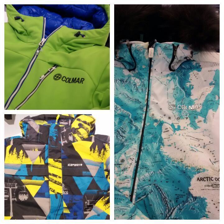 Colmar, Icepeak, RH+, Barts, Collezione Sci Uomo/Donna/Bambino. Uscita 2 dicembre 2015. Unionmoda - L'Outlet Abbigliamento più Grande delle Marche.