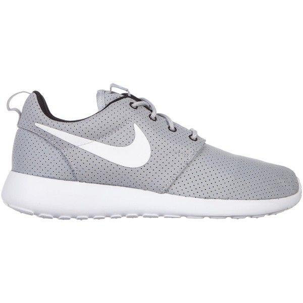 Nike Women's Nike Roshe Run ($73) ❤ liked on Polyvore featuring shoes,  athletic · Running WolfNike RunningRunning ShoesGrey ...