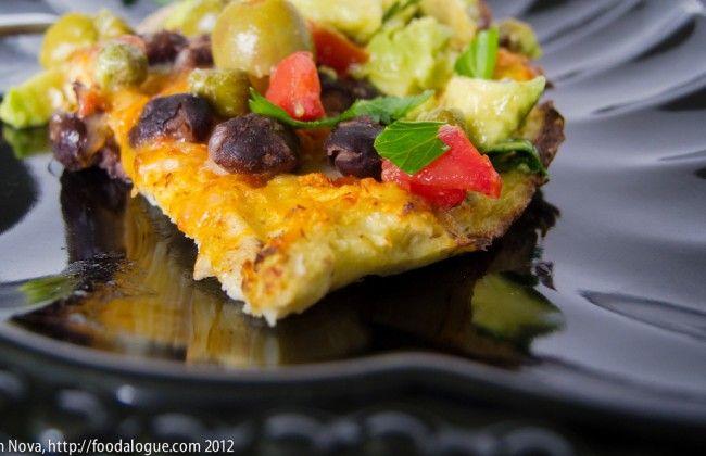 Gezond: pizzadeeg van bloemkool