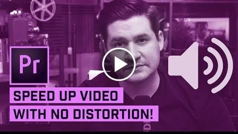 SPEED UP Video with No Audio DISTORTION in Premiere Pro  http://videotutorials411.com/speed-up-video-with-no-audio-distortion-in-premiere-pro/  #Photoshop #adobe #lightroom #graphicdesign #photography