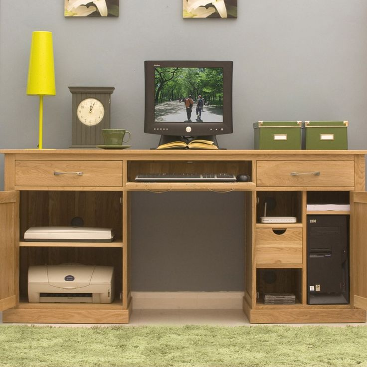 Mobel Oak Large Home Office