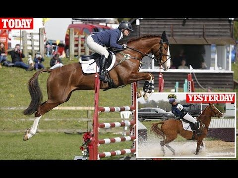 Zara Phillips Competes in Another Horse Trial Just a Day After Tumbling off Her Horse