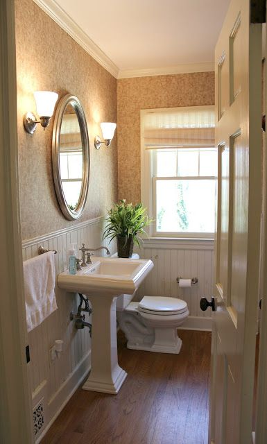 Small Bathroom Makeovers Before and After | Guest Bathroom Makeover: The Final Before & After