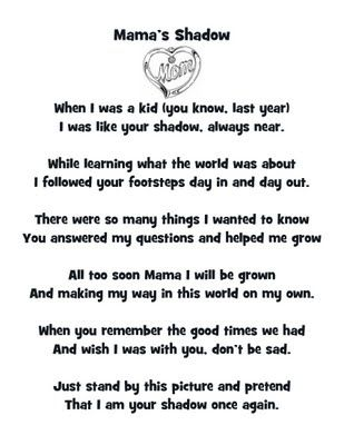 Best 25 Mothers day poems ideas on Pinterest Easy mothers day