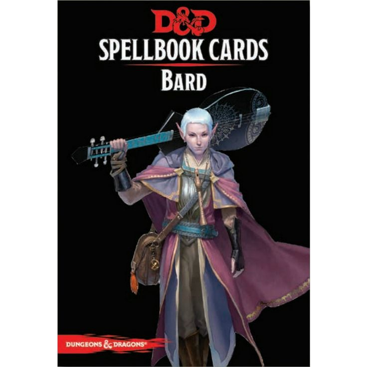 D&D Spellbook Cards Bard Revised