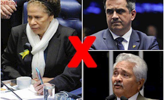 Ciro e Férrer assinam representação contra Regina Sousa por 'ocupação'