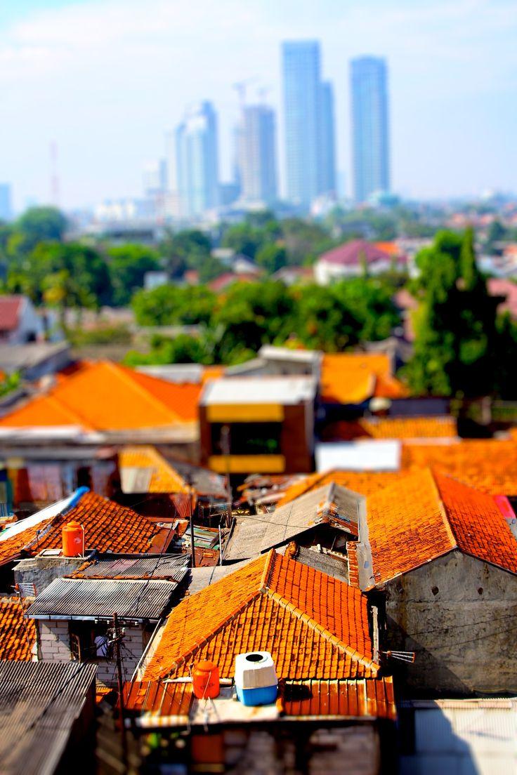 Rooftops facing South Jakarta. JakartaRooftopsIndonesia