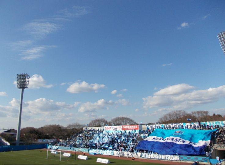 Yokohama FC gegen Montedio Yamagata in Nippatsumitsuzawa-stadion 22.03.2014 横浜FCvsモンテディオ山形 2014年度J2第4節 ニッパツ三ツ沢競技場 | Show the FLAG !!