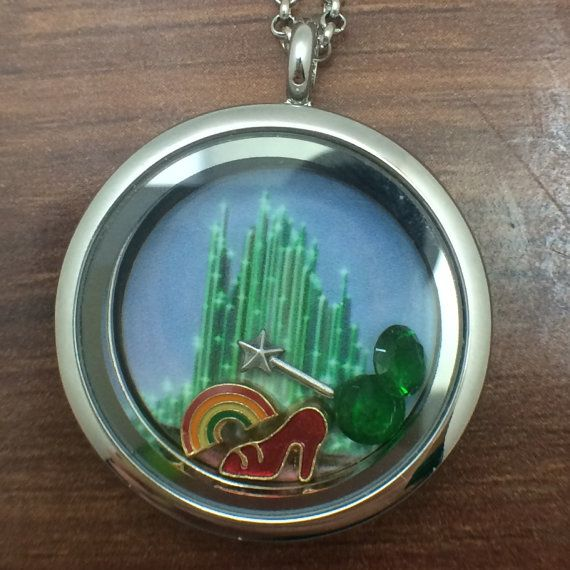 The Wizard of Oz Themed Floating Charms Locket
