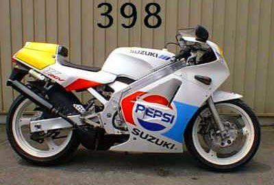 Suzuki RGV250 Gamma model history