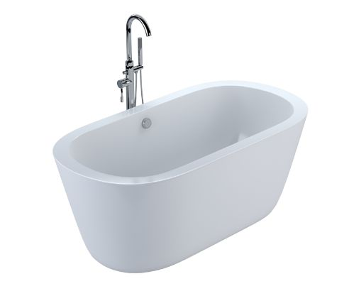Leoni Freestanding Bath 1490 x 790mm - V32171023 front_angle square medium