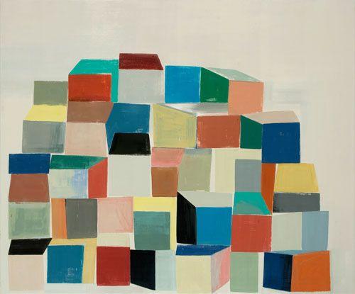 Finkenauer accumulation, 2008 oil on canvas 150 x 180 cm