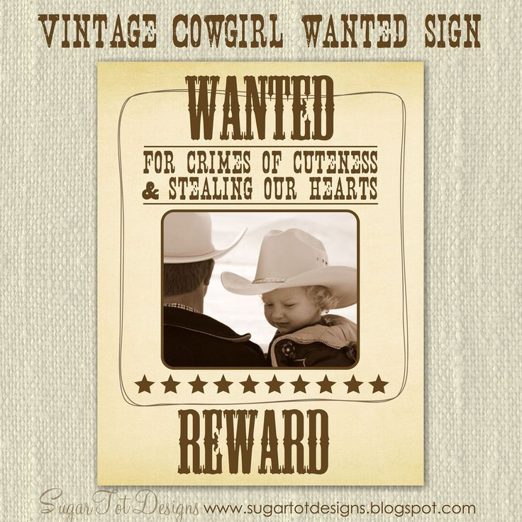 17 best western images on Pinterest Silhouettes, Animal - printable wanted posters