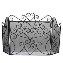 pare feu ustensile ustensiles de chemin e id al cheminee po le bois ou granul s grille ecran. Black Bedroom Furniture Sets. Home Design Ideas