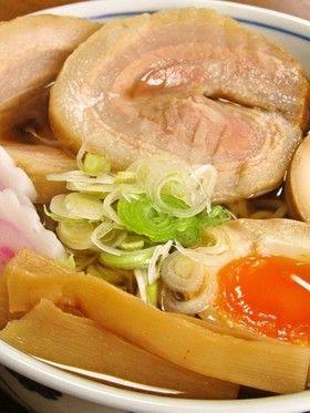 ラーメンの叉焼(チャーシュー麵)と煮玉子 by クッキングSパパ ...