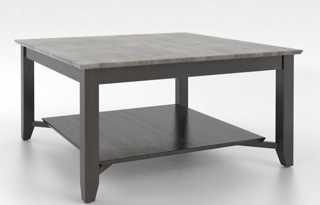 Canadel Occasional 40 Square Coffee Table Sku Csq040400859mejc Top Colors 08 Shadow Body Colors 59 Davy S Grey Fi Coffee Table Coffee Table Square Table
