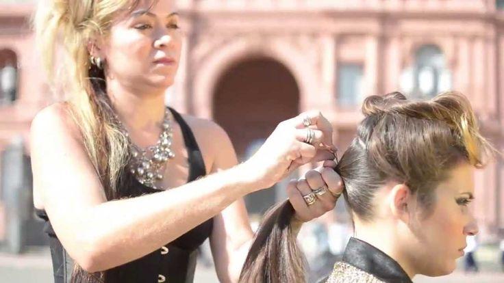 03 Peinados inspirado na Evita, 03 penteados rápidos