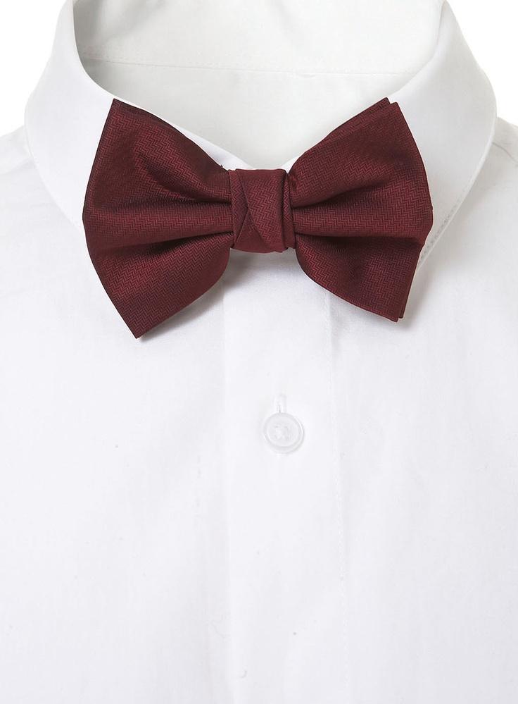 Best 25+ Maroon bow tie ideas on Pinterest