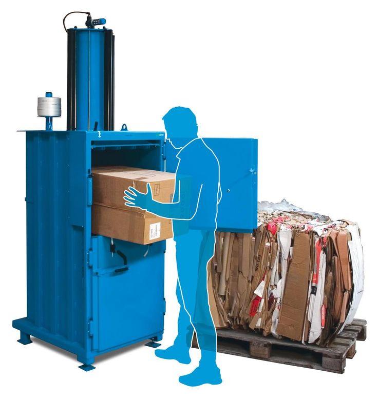 Mil-tek 305 Cardboard & Plastic Baler
