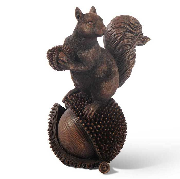 Our charming squirrels on nuts decor will add a rustic woodland touch to your mantel or dining table from Indeed Decor, curators of unique home decor.