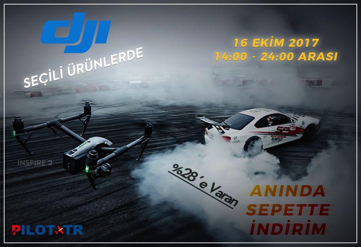 📌 DJI Marka Seçili Ürünlerde 🛒 Anında Sepette İndirim! 🌎 https://www.pilottr.com/dji-aninda-sepette-indirim/ 🗓 16 Ekim 2017 | 🕛 Saat: 14:00 - 24:00 Arası #pilottr #dji #drone #quadcopter #multicopter #gimbal #camera #kamera #rcmodel #modelrc #kampanya #indirim #fırsatürün