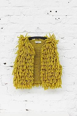 April Showers | Wool Fringe Vest | Knitwear Inspiration