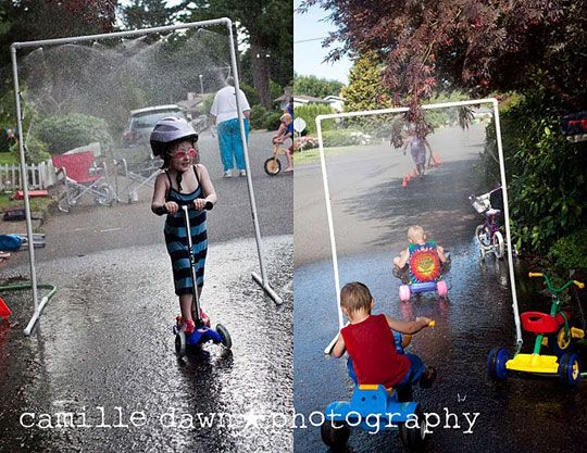 Kid car wash WITH link to pdf instruction file. DEFINITELY making this for Peyton's birthday!