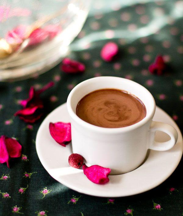 Chocolate shots with ginger, chile, and Baileys Irish Cream #chocolate @mjskitchen mjskitchen.com