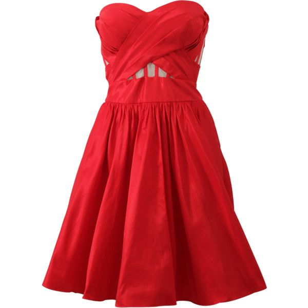 10 Best ideas about Red A Line Dress on Pinterest - Lace dresses ...