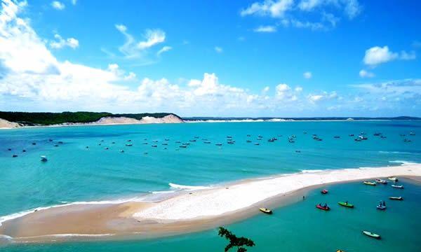 Baia Formosa barra do cunhau viagem nordeste Pacotes baratos Barra do Cunhaú, RN