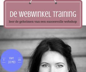 De Webwinkel Training: van klant naar groupie. 8 weken online + live mastermind dag; 18 mei starten we! http://snip.ly/2K3v