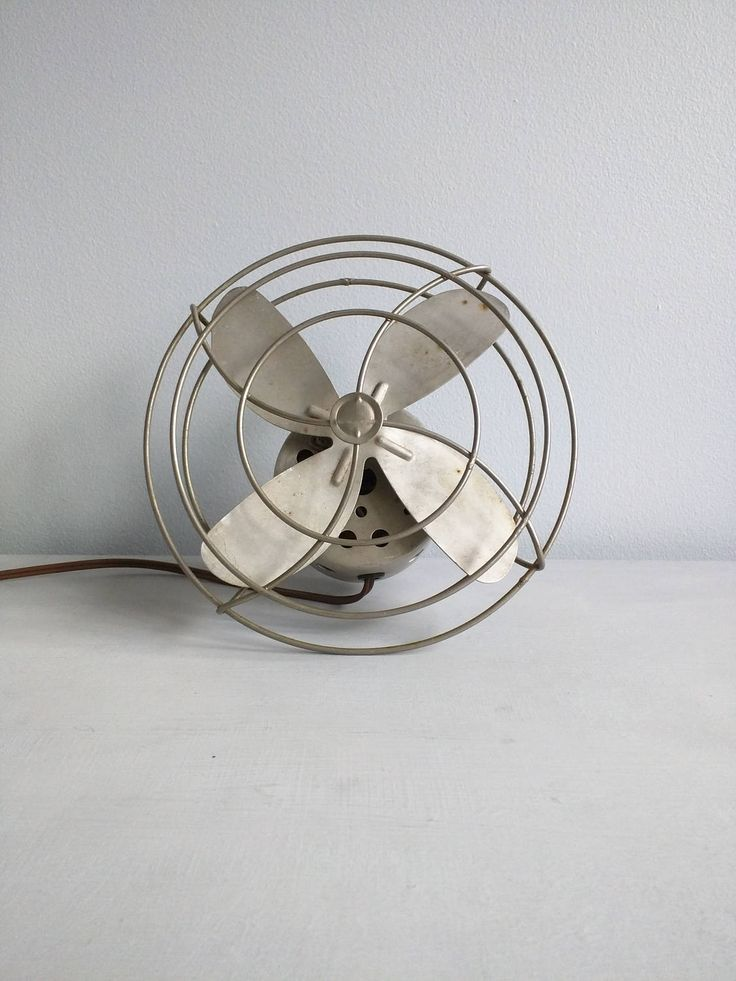 Working Vintage Fan Rare industrial fan Retro small fan for mounting or using on your desk Electric Fan Office Set Prop Display tabletop fan by SweetBraceDesign on Etsy