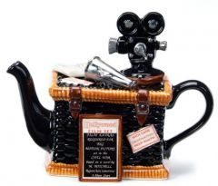 Movie Basket Teapot:  Tony Carter's Teapots