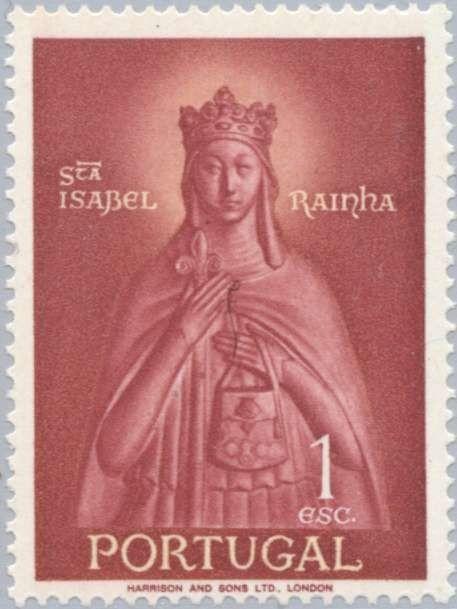 Znaczek: Queen Santa Isabelle (1274-1336) (Portugalia) (Queen Santa Isabelle and Saint Theotonius Festival) Mi:PT 864,Sn:PT 832,Yt:PT 845,Afi:PT 835