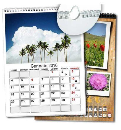 Calendari Mensili A4 Personalizzati