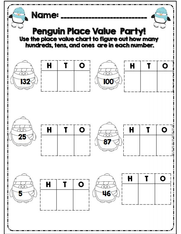 Best Place Value Images On   Math Activities Maths