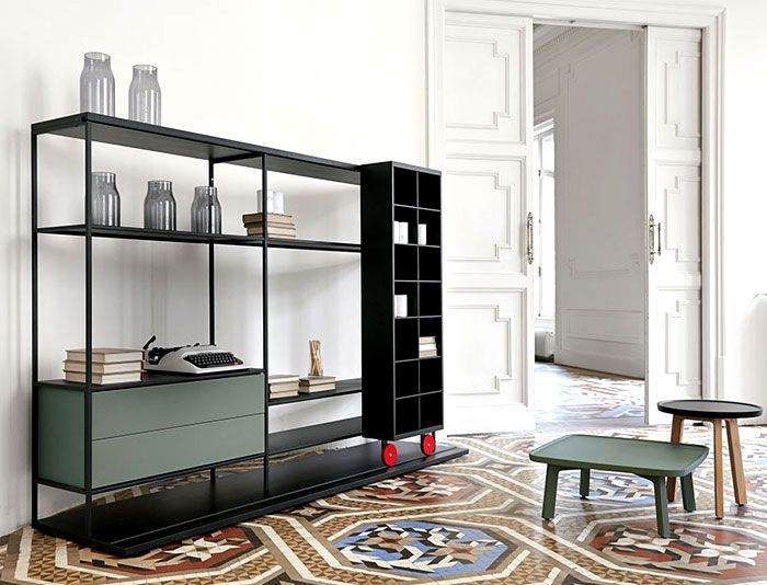 Literatura Open Bookcase by Punt Mobles literatura open bookcase 7