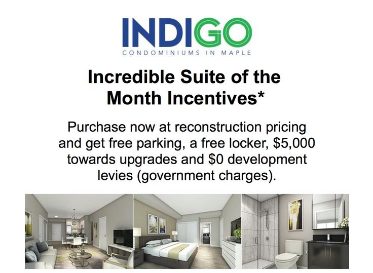 Click to find out more details about Indigo Suite of the Month Special Incentives from @pembertongroup! http://conta.cc/2knauv9