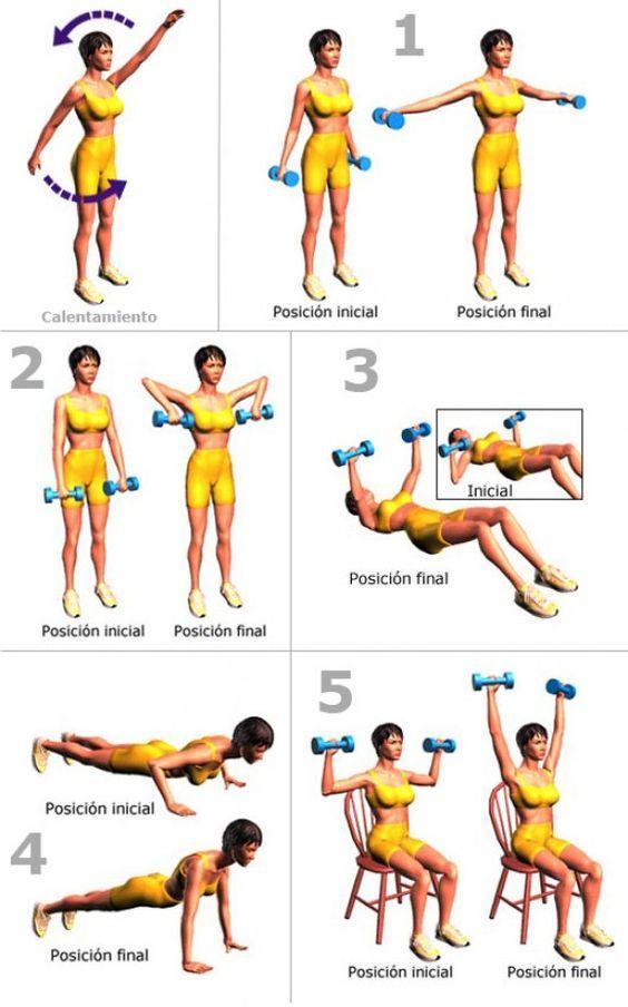 Con el paso del tiempo y el sedentarismo, nuestros brazos se vuelven flácidos y débiles. Por lo que es momento de tonificarlos para lucir más saludable. Si no dispones de tiempo, esta rutina corta será la ideal para ti. Recomendaciones previas: Usar ropa cómoda. Realizar calentamiento. Mantener…