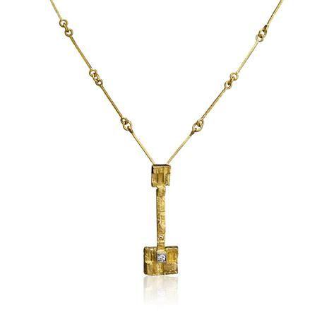 Lapponia - 18K gold Thai Necklace