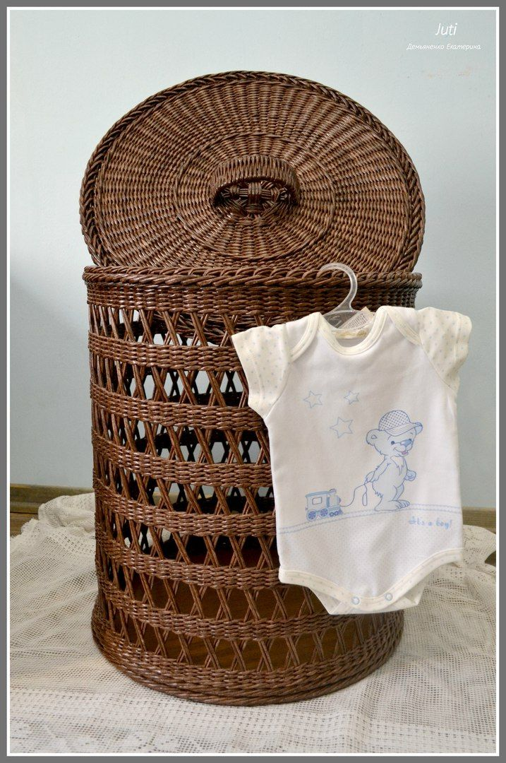 Корзина для белья, размер диаметр 47 см, высота 55 см.