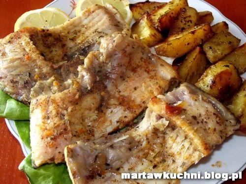 Ryba zapiekana w folii aluminiowej | martawkuchni