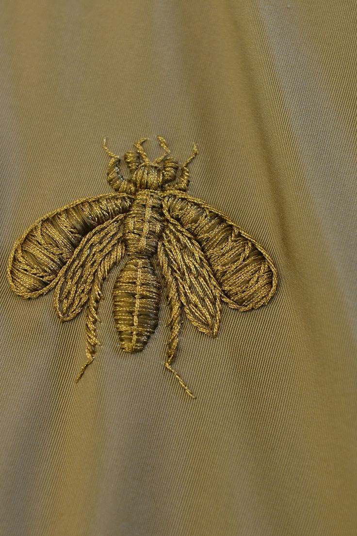 Valentino embroidered insect
