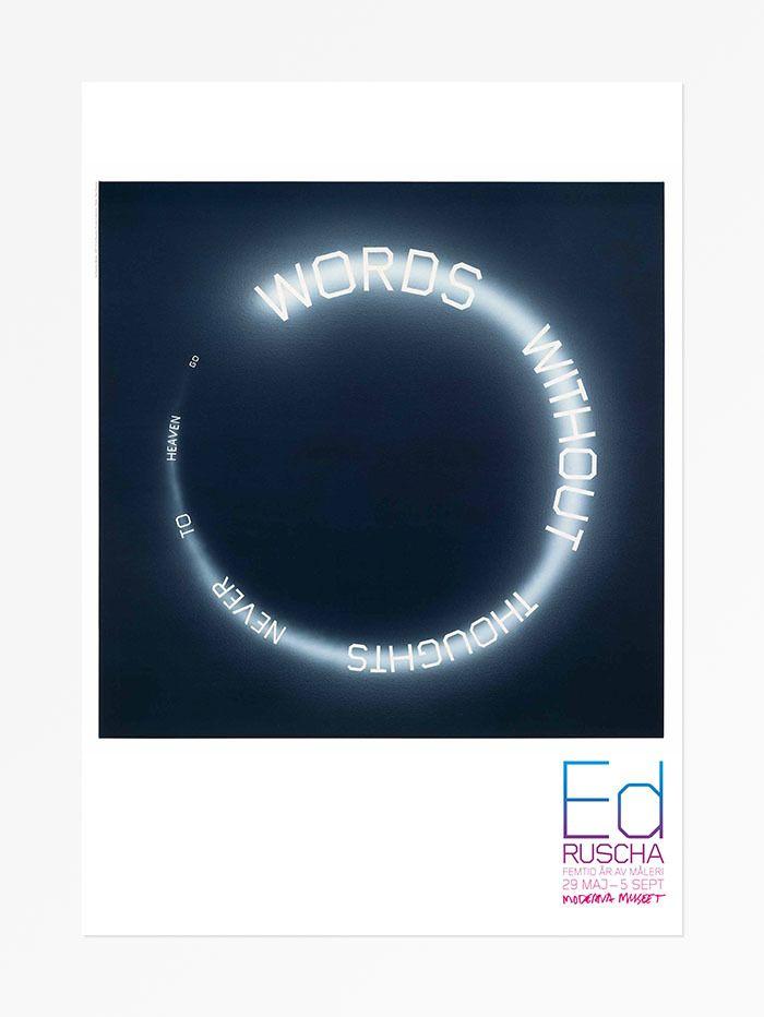Ed Ruscha - Words, 1987